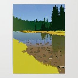 Junction Lake Poster