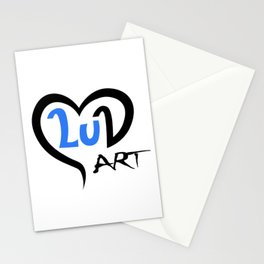 Logo of LuArt Gallery, art by a Scottish painter, Luna Smith Stationery Cards