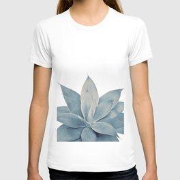 Blush Blue Agave #1 #tropical #decor #art #society6 T-shirt