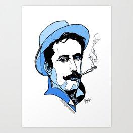 Giacomo Puccini Italian Composer Art Print