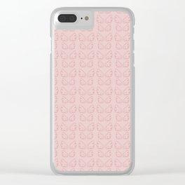 Cutie Wings Clear iPhone Case