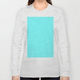 Simply Cyan Long Sleeve T-shirt