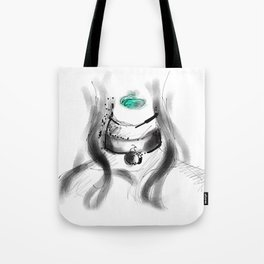 Collar Bell Tote Bag