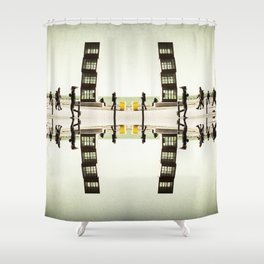 I man Immigrant Shower Curtain