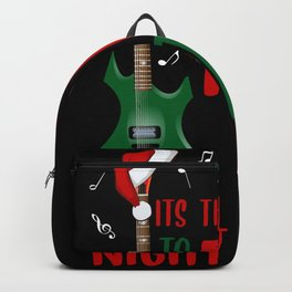 Rock guitare on the night Backpack