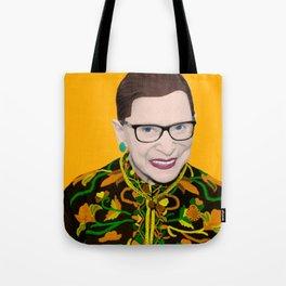 Orange RBG Tote Bag