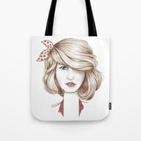 dorothy Tote Bags featuring Dorothy by yulianzone