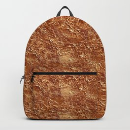 copper texture Backpack