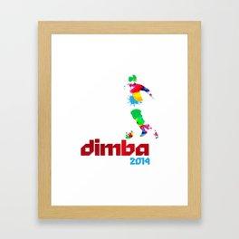 DIMBA 2014 Framed Art Print