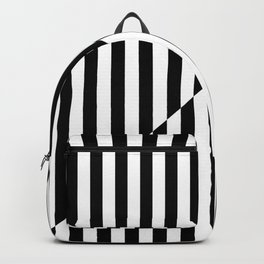 VINTAGE TELEVISION (BLACK-WHITE) Backpack