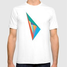 Oscillation SMALL Mens Fitted Tee White