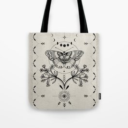 Magical Moth Tote Bag