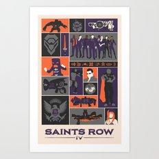 Saints Row IV Art Print