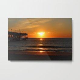 Bouncing Sun Metal Print