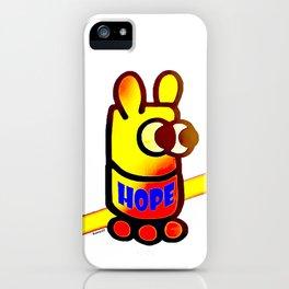 Bunnycult Hope Bunny logo iPhone Case