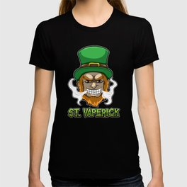 St. Vaperick - Vaping Leprechaun - Vape Ireland T-shirt