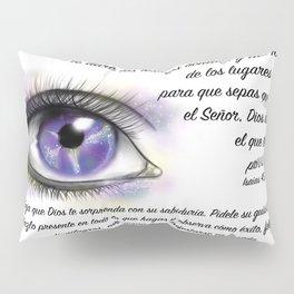 Ojo galaxia - Isaías 45, 3 Pillow Sham