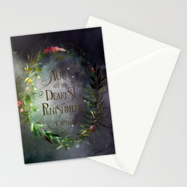 You are my dearest punishment. Cardan Stationery Cards