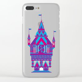 Castle in the Sky 02 Clear iPhone Case