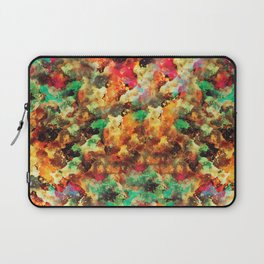 """I LOVE YOU script or abstract watercolor art with the same name Laptop Sleeve"