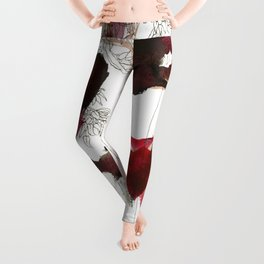 I'll give some burning colours to your white forest Leggings