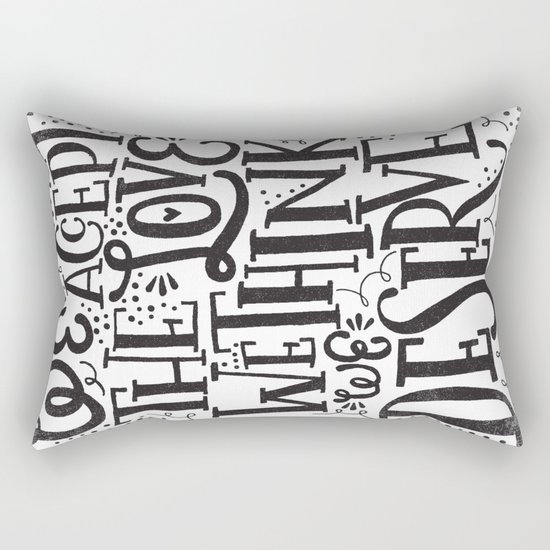 WALLFLOWER Rectangular Pillow