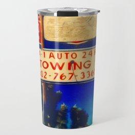RRoute 66 Sign Travel Mug