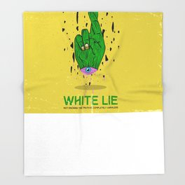 Whitelie Throw Blanket
