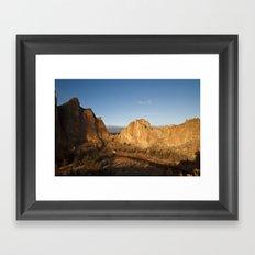 Smith Rock Sunrise II Framed Art Print