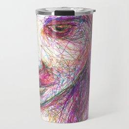Rainbow Rhonda Travel Mug
