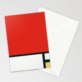 Composition II en rouge, bleu et jaune, Piet Mondrian, 1930 Stationery Cards