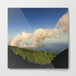 Clouds From the Mountains to the Sky: Marquesas Islands Metal Print