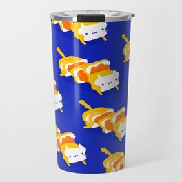 Toast Cat Travel Mug