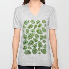 Leaves pattern (28) Unisex V-Neck