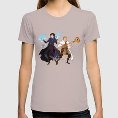Sherlock and John LARGE Cinder Womens Fitted Tee