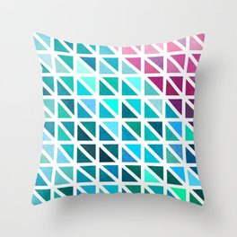 Triangles #7 Throw Pillow