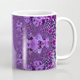 Encrusted Amethyst Purple Gems February Birthstones art Coffee Mug