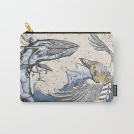 Raven and the Whale Carry-All Pouch