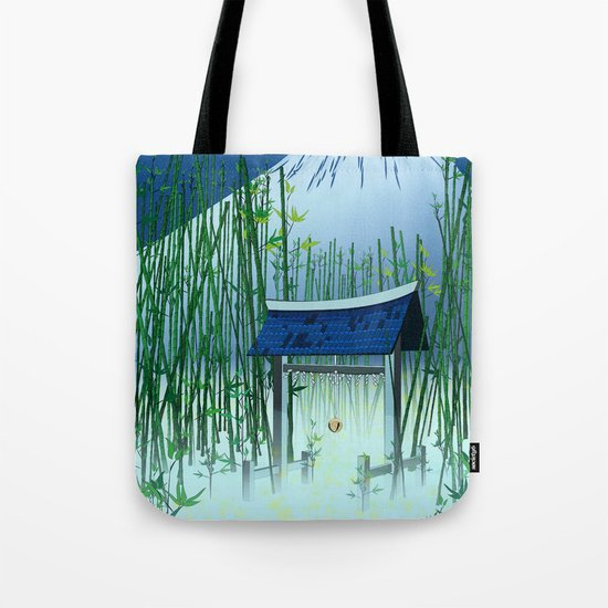 A moonless night Tote Bag