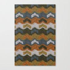 Flying V's Knit Canvas Print