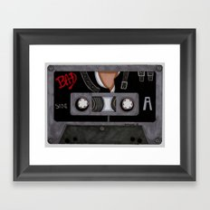 Bad-The Tape Framed Art Print
