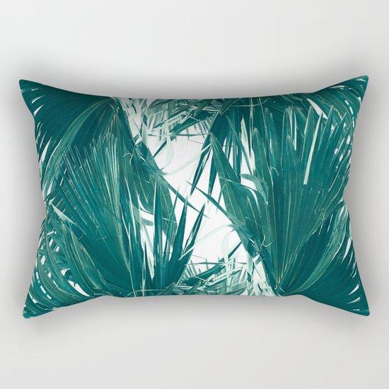 Palm Twist Rectangular Pillow