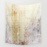 cracked Wall Tapestries featuring Cracked Wall by Bestree Art Designs