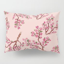 Sakura Branch Painting Pillow Sham