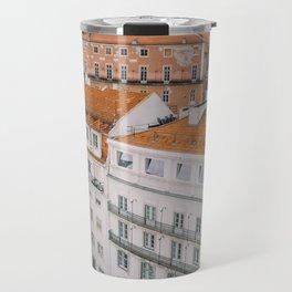 Rooftops over Lisbon, Portugal Travel Mug