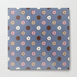 Polka Donut Metal Print