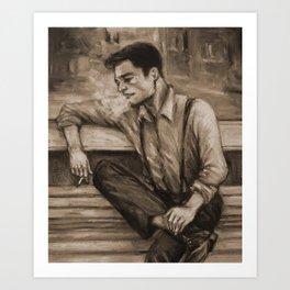"""James Buchanan """"Bucky"""" Barnes, circa 1938 Art Print"""