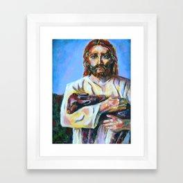 The Good Shepherd  Framed Art Print