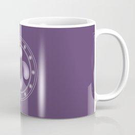 LAUBURU IN PURPLE (abstract geometric symbol) Coffee Mug