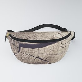 Cracks in Time - Photography #Society6 Fanny Pack